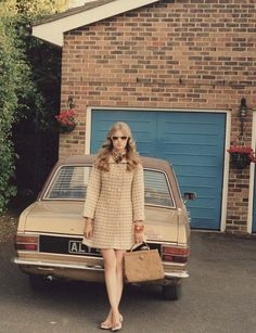 Lindsey Wixson photographed by Venetia Scott and styled by Marie-Amelie Sauvé Originally published in AnOther (F/W 70s Fashion, Love Fashion, Fashion Beauty, Vintage Fashion, Vintage Beauty, Lindsay Wixson, Vintage Colors, Vintage Vibes, Vintage 70s
