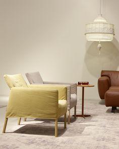 Arm chairs Coppola in fabric Gitano