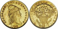 Capped Bust (Turban Head) Quarter Eagle-Type 2 With Obverse Stars, 1796-1807