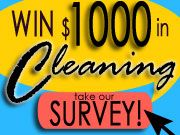 WIN: $1,000 Worth of Maid Brigade Cleaning Services www.247moms.com #247moms