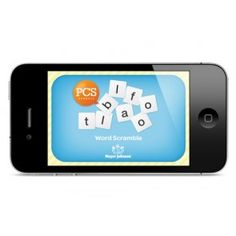 """Our new Word Scramble PCS™ App features fun activities that focus on different vocabulary. Start off slow by unscrambling the letters, """"T"""", """"C"""", """"A"""" to spell the word """"CAT"""". Then, as you strengthen your skills, unscramble bigger words like """"A"""", """"B"""", """"L"""",""""E"""", """"T"""" to spell the word """"TABLE""""."""