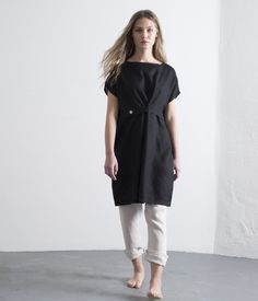 a6a428ccbb Shop Fog Linen · Apparel   Accessories · A very modern piece featuring a  wide boat neck and straight