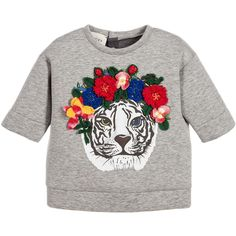 Shop our Gucci kids collection including kids Gucci belts, dresses, bags, Gucci baby clothes and more from the luxury designer. Discover our beautiful Gucci kids range. Gucci Baby Clothes, Designer Baby Clothes, Tween Girls, Kids Girls, Baby Girls, Baby Girl Fashion, Kids Fashion, Baby Kids Wear, Stylish Little Girls