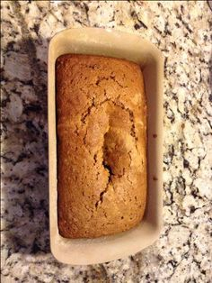 Carrot bread -- added 1/2 cup of chocolate chips.  Yum!