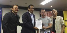 """(Video, Audio y Fotos) """"Kitu"""" Díaz: """"Regresé para ser nuevamente campeón con Barcelona"""""""