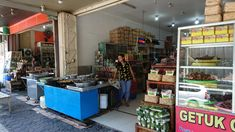 Place to frying tempe mendoan at Purwokerto Banyumas