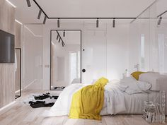 3 Modern Apartments with Chic Rooms for the Kids - Interior Designs Modern Apartment Design, Modern Interior, Interior Design, Modern Apartments, Bedroom Decor, Bedroom Ideas, House Design, Stylish Couple, Home Decor