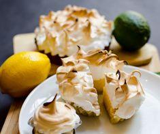 Lemon Meringue Tarts...  how cute, little tartlets,look great!!