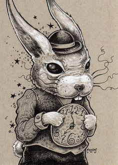 White Rabbit by Bryan Collins