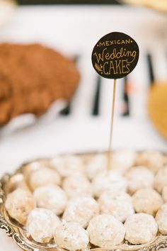 Mexican Wedding Cookies. Yum!    Photography by valophotography.com