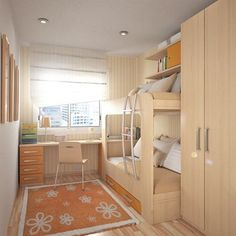 decorar habitaciones juveniles pequeñas Small Teenage Bedroom, Small Teen Room, Cool Teen Rooms, Modern Teen Bedrooms, Modern Bunk Beds, Teen Girl Bedrooms, Awesome Bedrooms, Small Rooms, Small Spaces