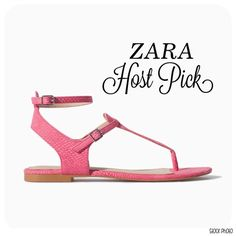 ZARA sandals HOST PICK shades of spring party - 4/5/15 !  NEW- perfect for day time use  size- 5    BUNDLE FOR BETTER PRICE- please don't hesitate to ask questions. thank you and happy POSHing ☺ Zara Shoes Sandals
