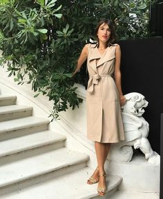 Jeanne Damas wearing Massimo dutti