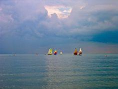 The sea. Brighton (UK), Agosto 2002