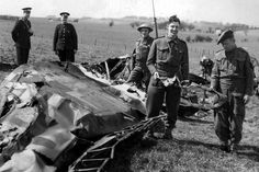 1941. Royal Observer Corps most famously tracked the plane of Nazi renegade Rudolph Hess to Fenwick Moor, where it crash-landed.