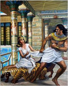 the story of joseph the dreamer and the potiphars wife Let's take a deeper dive by stepping into the story of joseph, the old testament   due to the false accusation of potiphar's wife to her husband,.