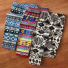 patterned leggings for women!
