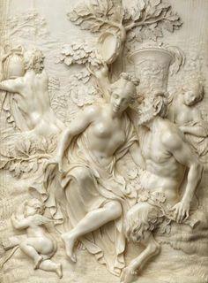 Ignaz Elhafen (1658-1715), Jupiter & Antiope © RMN-Grand Palais / Musée du Louvre - Jean-Gilles Berizzi Louvre, Gilles, Grand Palais, Paris, Magical Creatures, Statues, Holland, Highlights, Sculptures