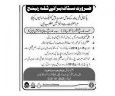 Pakistan Army Training Headquarters 1 Mangla cantt Jobs Apply Now