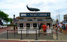 Boston Harbor Cruises Ticket Center at Long Wharf