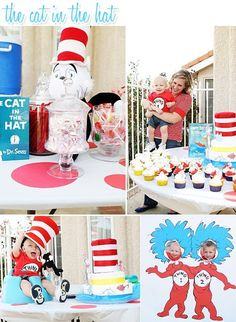 "party ideas ""Dr. Seuss's The Cat in the Hat"" at the Center for Puppetry Arts, Atlanta, GA"