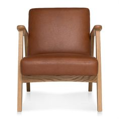 Shop the DEN Leather Armchair, Oak Frame in Nutmeg . This sofa is part of freedom's range of contemporary furniture and comes with a 10 year frame warranty. Den Furniture, Freedom Furniture, Unique Furniture, Rustic Furniture, Contemporary Furniture, Lounge Furniture, Furniture Vintage, Furniture Ideas, Fabric Armchairs
