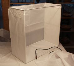 DIY your own lightbox for picture perfect photos. http://www.ikeahackers.net/2012/02/photography-light-box.html