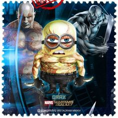 Guardians of the Galaxy Minions ~ Orax