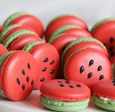 Watermelon Macaron