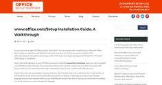 www.office.com/Setup Installation Guide: A Walkthrough