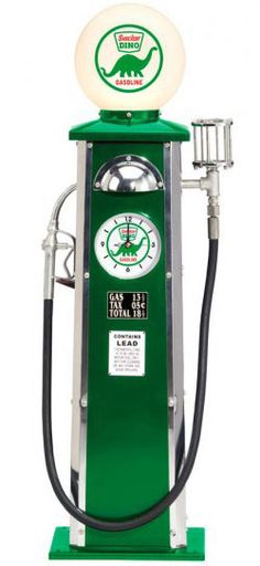 In the early days of automobile travel, service stations were unfamiliar and often poorly lit at night. So lighted gas pump globes were key to drawing in motorists. Early pumps allowed motorists to see if the gas was clean (through a small glass window), and later watch the price as the gas was pumped.