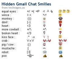 Weird text faces