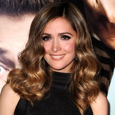 Rose Byrne.  Photo:  Steve Granitz/WireImage.  InStyle.  Makeup + hair + dress = beautiful.