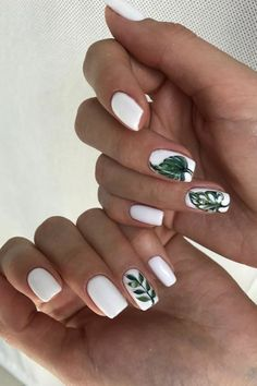"""If you're unfamiliar with nail trends and you hear the words """"coffin nails,"""" what comes to mind? It's not nails with coffins drawn on them. It's long nails with a square tip, and the look has. Nail Art Designs, Colorful Nail Designs, Acrylic Nails, Gel Nails, Nail Polish, Trendy Nails, Cute Nails, Vacation Nails, Nagellack Trends"""