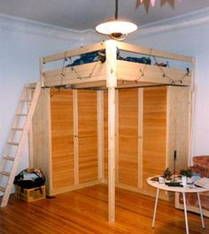 how to build a loft diy step by step with pictures. Black Bedroom Furniture Sets. Home Design Ideas