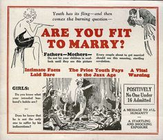 Are you fit to marry? #thaifernandes, #thaisafernandes, #advertingvintage, #vintage