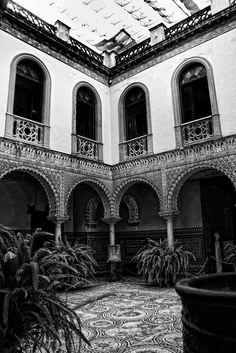 Patio de la casa de Lebrija ( Sevilla )