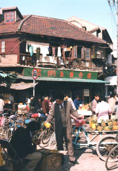 Shanghai in the 1990s