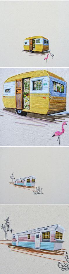 embroidery by stephanie k. clark <3