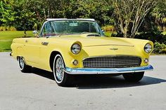 Best driven 1956 Ford Thunderbird Convertible in country this car is right sweet