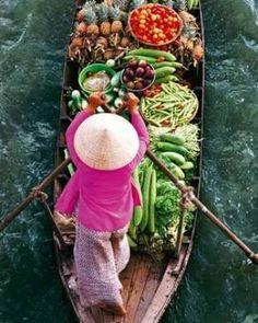Меконг, Вьетнам #tuanlinhtravel #виза #вьетнам www.vietnam-visa-service.com/Russian/