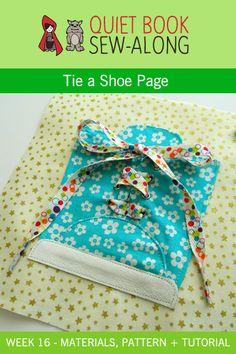 Thread Riding Hood - Quiet Book Sew-Along Wk 16