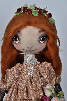 Коллекционные куклы ручной работы. Ярмарка Мастеров - ручная работа Куколка Таша. Handmade.