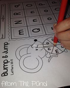 Phonics Freebie from Mrs Jump & From the Pond Interactive Worksheet