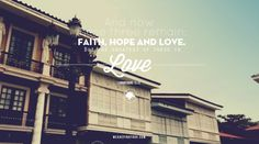 Greatest Love by Pinkfrog Web & Graphics , via Behance Qoutes About Love, Great Love, Philippines, Wedding Inspiration, Faith, Places, Typography, Behance, Layout