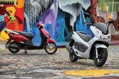 Honda LEAD e Honda PCX