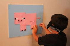 MineCraft Birthday Party Ideas | Photo 14 of 14 | Catch My Party