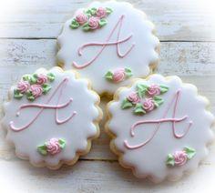 Sugar Cookie Frosting, Best Sugar Cookies, Baby Cookies, Cut Out Cookies, Cute Cookies, Birthday Cookies, Royal Icing Cookies, Cupcake Cookies, Christening Cookies