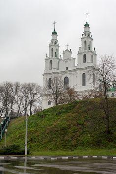 St. Sophia's cathedral. Polotsk, Belarus