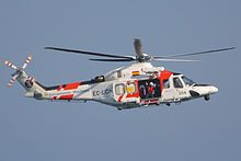 A spanish matitime safety agency aw139sair rescue helicopter wtc world trade center